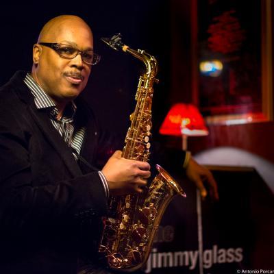 Greg Osby (2015) in Jimmy Glass Jazz Club. Valencia