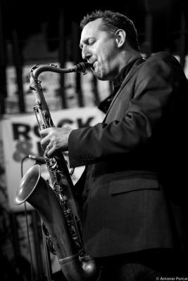 Ondrej Stveracek (2015) at  Reduta Jazz Club Prague .