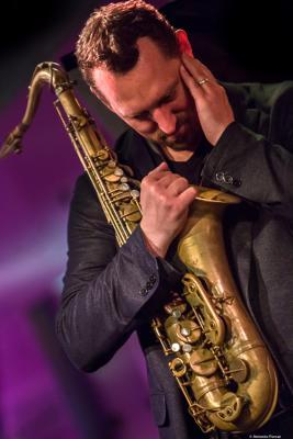 Ondrej Stveracek (2017) at Jazz Dock. Praha .