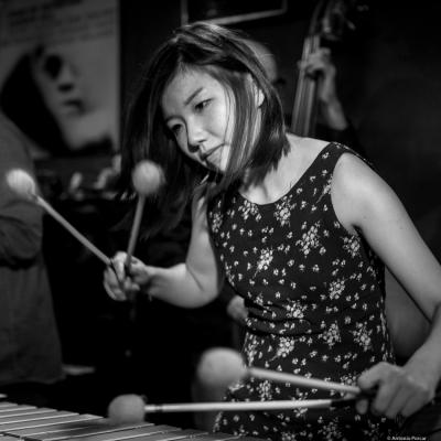 Yuhan Su (2016) in Jimmy Glass Jazz Club. Valencia