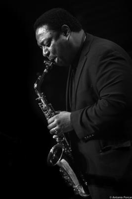 Vincent Herring (2015) in Jazzinec. Trutnov. Czech Republic
