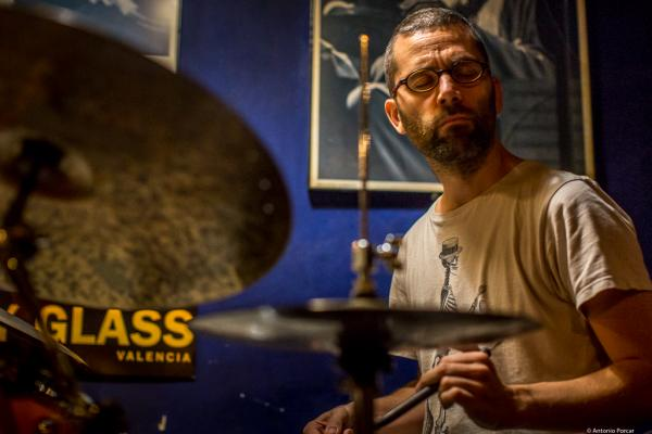Ramón Prats (2016) in Jimmy Glass Jazz Club. Valencia.