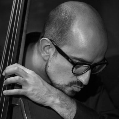 Juan Pablo Balcazar (2016) in Jimmy Glass Jazz Club. Valencia.
