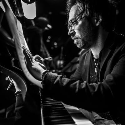 Aaron Parks (2018) at Jimmy Glass Jazz Club, Valencia.