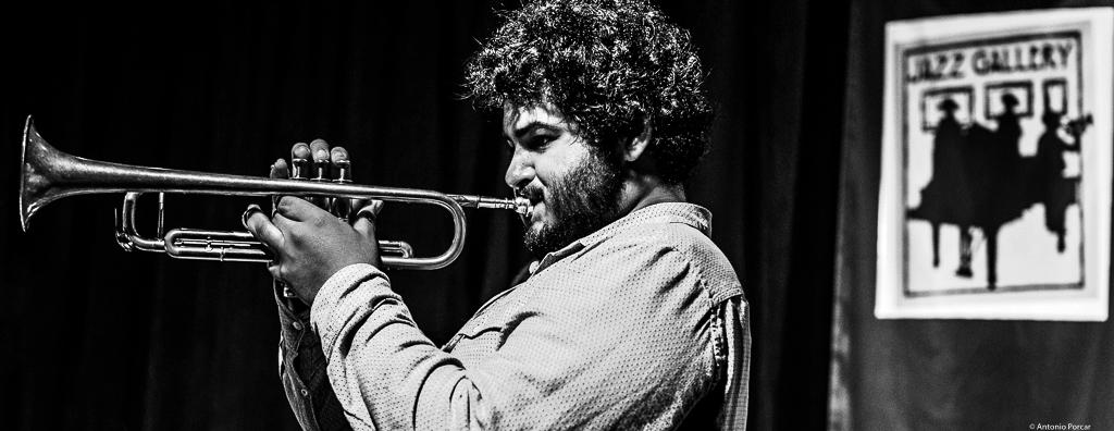 Adam O'Farrill at The Jazz Gallery. NYC, 2018.