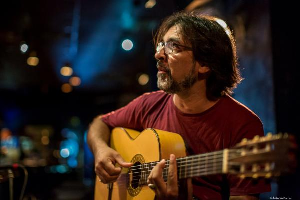 "Agustín Carbonell el ""Bola"" (2017) at Jimmy Glass Jazz Club. Valencia."