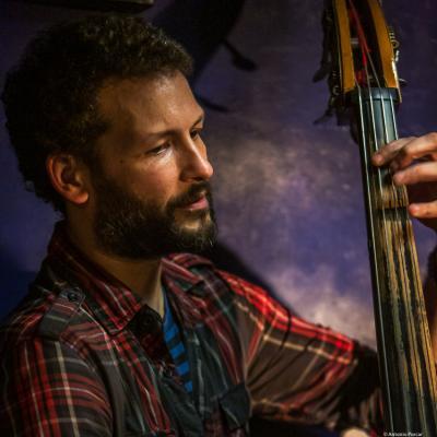 Ales Cesarini, (2018)  at Jimmy Glass Jazz Club. Valencia.