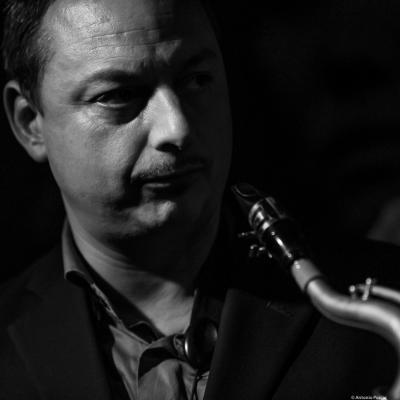 Alex Garnett (2018) at Jimmy Glass Jazz Club. Valencia.