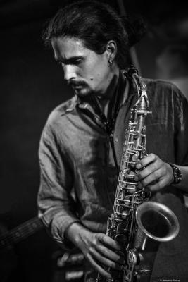 Alexey León (2017) at Jimmy Glass Jazz Club. Valencia.