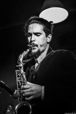 Alexey León (2020) at Jimmy Glass Jazz Club. Valencia.
