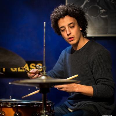 Andreu Pitarch (2016) at Jimmy Glass Jazz Club. Valencia.