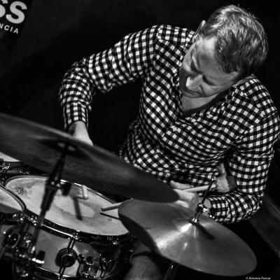 Andrew Bain at Jimmy Glass Jazz Club. Valencia, 2018.