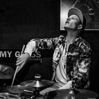 Anton Eger (2018) at Jimmy Glass Jazz Club. Valencia.