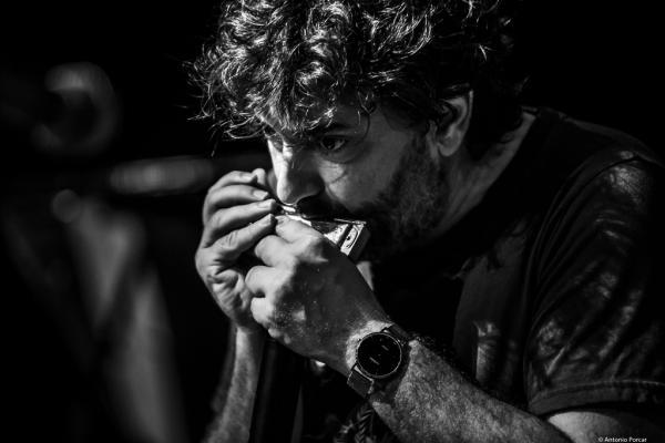 Antonio Serrano at Begues Jazz Camp 2018.