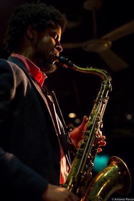 Ariel Bringuez (2016) in Jimmy Glass Jazz Club. Valencia.