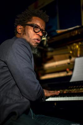 Aruán Ortiz (2017) at Jimmy Glass Jazz Club. Valencia.