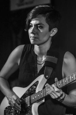 Ava Mendoza (2019) at Jimmy Glass Jazz Club. Valencia