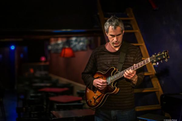 Ben Monder (2019) at Jimmy Glass Jazz Club. Valencia.