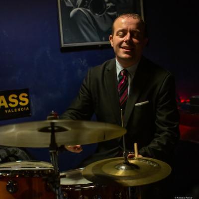 Bernd Reiter (2019) at Jimmy Glass Jazz Club. Valencia.