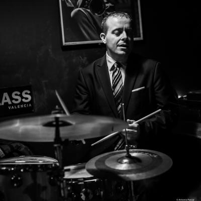Bernd Reiter (2019) at Jimmy Glass Jazz Club. Valencia.