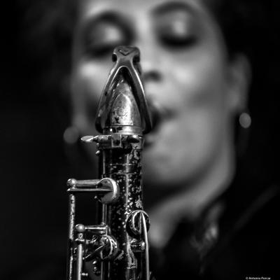 Berta Moreno (2018) at Jimmy Glass Jazz Club. Valencia.
