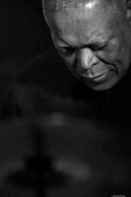 Billy Hart (2017) at Jimmy Glass Jazz Club. Valencia