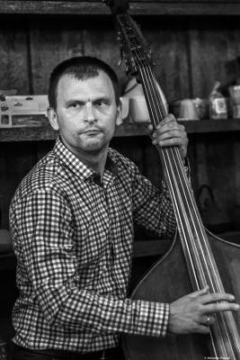 Boris Taslev (2018) at Tea Hose. Sofía. Bulgaria.