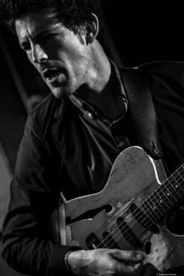 Brandon Seabrook (2017) in Jimmy Glass Jazz Club. Valencia.