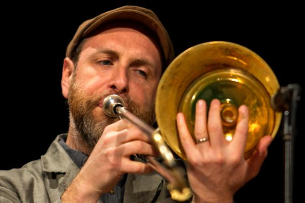 Brian Drye in Jazzinec 2016. Trutnov.
