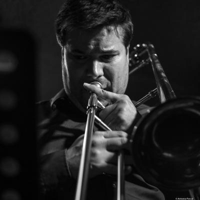 Caros Martín (2017) at Jimmy Glass Jazz Club. Valencia.