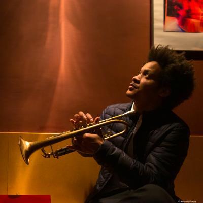 Carlos Sarduy (2019) at Jimmy Glass Jazz Club. Valencia.
