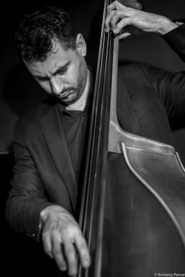 César Cortés (2015) in Jimmy Glass Jazz Club. Valencia