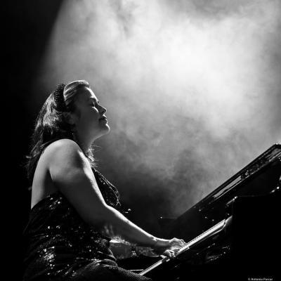 Champian Fulton (2021) at Festival de Jazz de Santander.