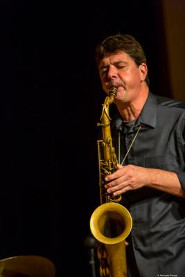 Chris Cheek at Festival de Jazz de Valencia 2018.