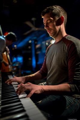 Chris Donnelly (2017) at Jimmy Glass Jazz Club. Valencia.