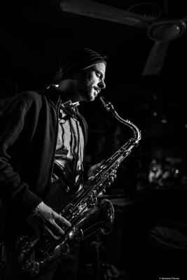 Christoph Irniger (2018) at Jimmy Glass Jazz Club. Valencia.ph