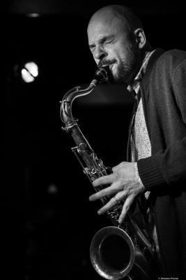 Christoph Irniger (2018) at Jimmy Glass Jazz Club. Valencia.