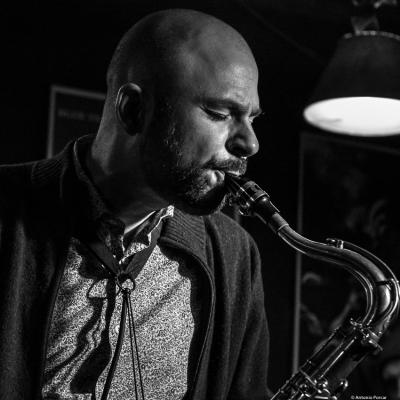 Christoph Irniger (2018) at Jimmy Glass Jazz Club. Valencia.