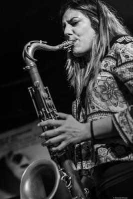 Clara Juan Soler (2018) at Jimmy Glass Jazz Club. Valencia.