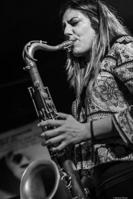Clara Juan Soler (2018) at Jimmy Glass Jazz Club. Valencia.