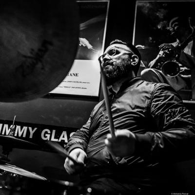 Colin Stranahan (2019) at Jimmy Glass Jazz Club. Valencia.