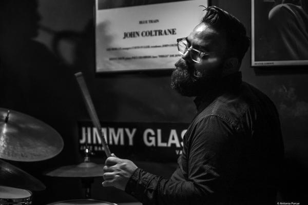 Colin Stranahan (2019) at Jimmy Glass Jazz Club. Valencia.