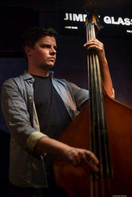 Dan Fortin (2017) at Jimmy Glass Jazz Club. Valencia