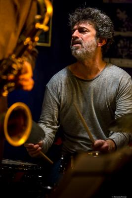 Daniel García Bruno (2017) in Jimmy Glass Jazz Club. Valencia.
