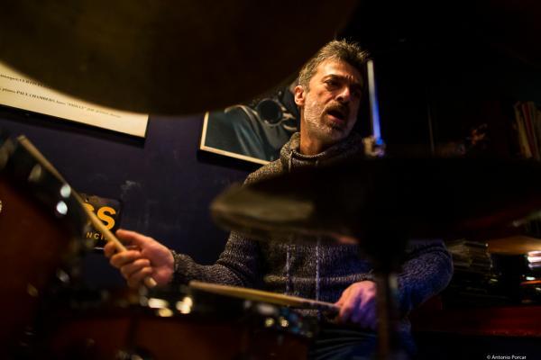 Daniel García Bruno (2019) in Jimmy Glass Jazz Club. Valencia.