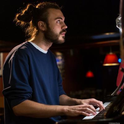 Daniel Orts (2019) at Jimmy Glass Jazz Club. Valencia