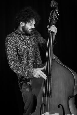 Dario Piccioni (2017) at Café Mercedes Jazz Club. Valencia.