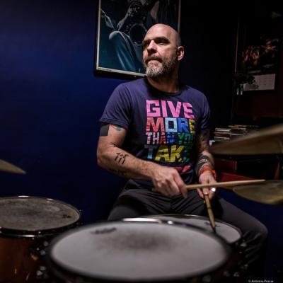 Dave King (2019) at Jimmy Glass Jazz Club. Valencia.