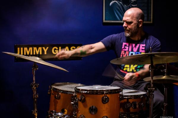Dave King (2019) at Jimmy Glass Jazz Club. Valencia.