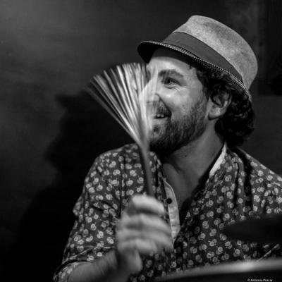 David Gadea Al-Saforaui (2016) in Jimmy Glass Jazz Club. Valencia